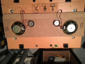 Rückseite Speakerpanel