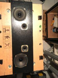 Vorderseite Speakerpanel