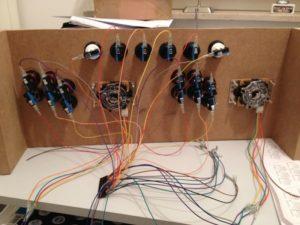 Verkabelung Testboard