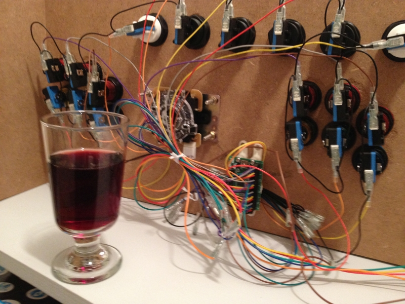 Verkabelung Test-Control-Board